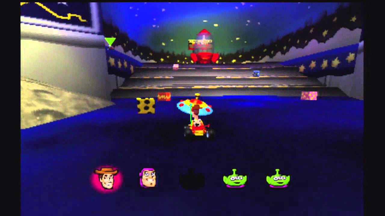 Toy Story Racer Ps1 Gameplay Youtube