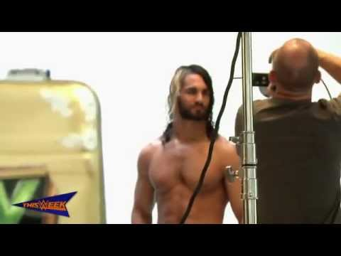 """Seth Rollins graces the January 2015 cover of """"The Box Magazine"""""""