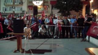 NECMETTİN İLGEN ÇANTACI NECMİ ABİ BANDIRMA MEYDAN NÖBETİ KONUŞMASI 09 08 2016   YouTube