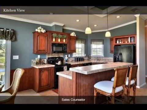 The Siesta Key Model Home at Riverside Club, A Solstice 55+ Community in Florida