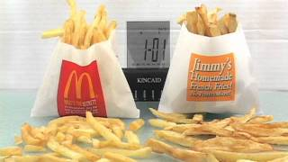 McDonald's French Fries Vs. Homemade - Time Lapse