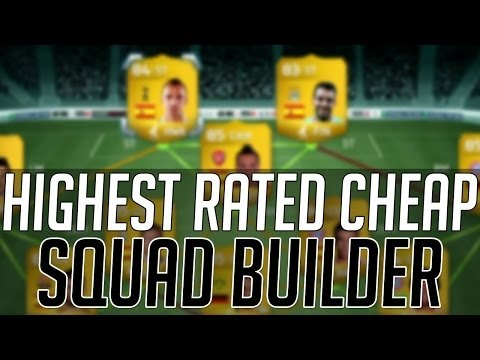 THE HIGHEST RATED AFFORDABLE SQUAD (CHEAP)   FIFA 14 Ultimate Team Squad Builder (FUT 14)