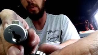 How to Rekey a Schlage SecureKey Or Schlage + Schlage Plus Blue key