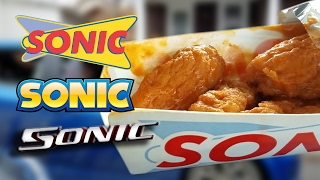 EATING SONIC IN A SONIC PLAYING SONIC
