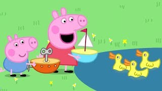 Peppa Pig Full Episodes | The Boat Pond | Cartoons for Children
