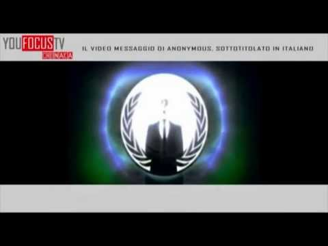 Megaupload ecco l'appello di Anonymous sub ita