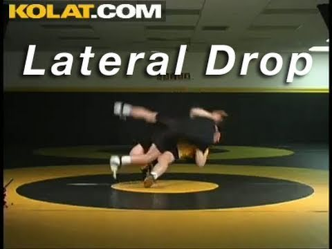 Lateral Drop Throw KOLAT.COM Wrestling Techniques Moves Instruction Image 1