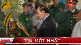 ⚡ NÓNG | Thủ tướng Nguyễn Xuân Phúc đến nhà riêng viếng nguyên Thủ tướng Phan Văn Khải