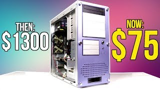 I Bought a $1300 Gaming PC from 2009 for $75... How does it game in 2017?