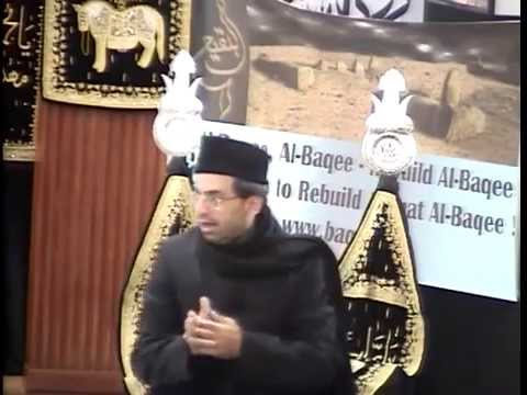 Dr. Salman Turabi - Taqreer On Jannat Ul Baqi' video