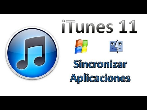 iTunes 11 - Sincronizar aplicaciones al [iPhone, iPad & iPod Touch]