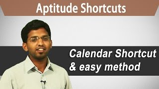 Best Aptitude Shortcuts Bank PO, GRE, GMAT, CAT, IBPS - Calendar shortcut and easy method