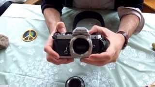 NIKON FM Camera 35mm Film demo