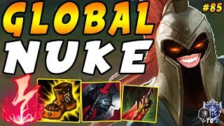 How to Become a GLOBAL Threat as Pantheon from LEVEL 2!   Iron IV to Diamond Ep #85