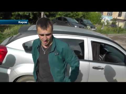 В Кирове пьяный лихач, убегая от автоинспекторов, притворился спящим
