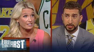 Celtics made the right decision not trading Tatum for AD - Sarah Kustok | NBA | FIRST THINGS FIRST