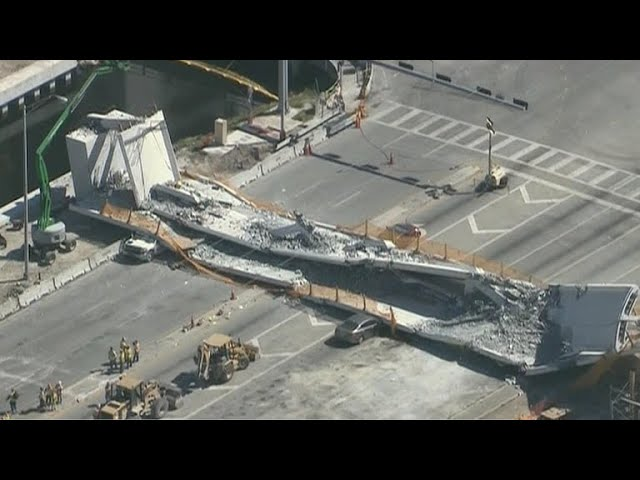 College student among 6 killed in Miami bridge collapse