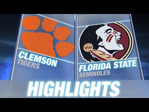 Clemson vs. Florida State | 2014 ACC Football Highlights