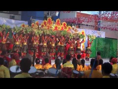 Street Dancing Winners of Kadayawan Festival 2012 in Davao, Philippines