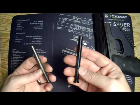 Sig Sauer P220, P226, P229, Stainless Steel Guide Rod Install