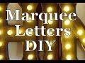 Marquee Letters DIY Terri Cumming Interior Design mp3