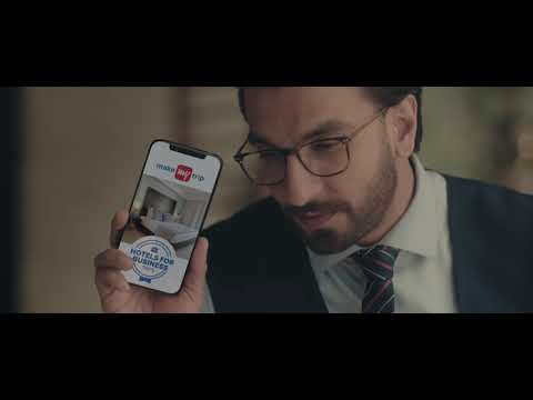 MakeMyTrip presents Hotels Best Suited for Business Trips - 35s TVC thumbnail