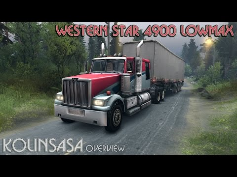 Western Star 4900 LowMax