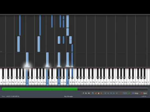 Naruto- Wind - Piano Tutorial [150% Speed] video