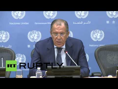 USA: Free Syrian Army are not terrorists, Russia fights terrorists in Syria - Lavrov
