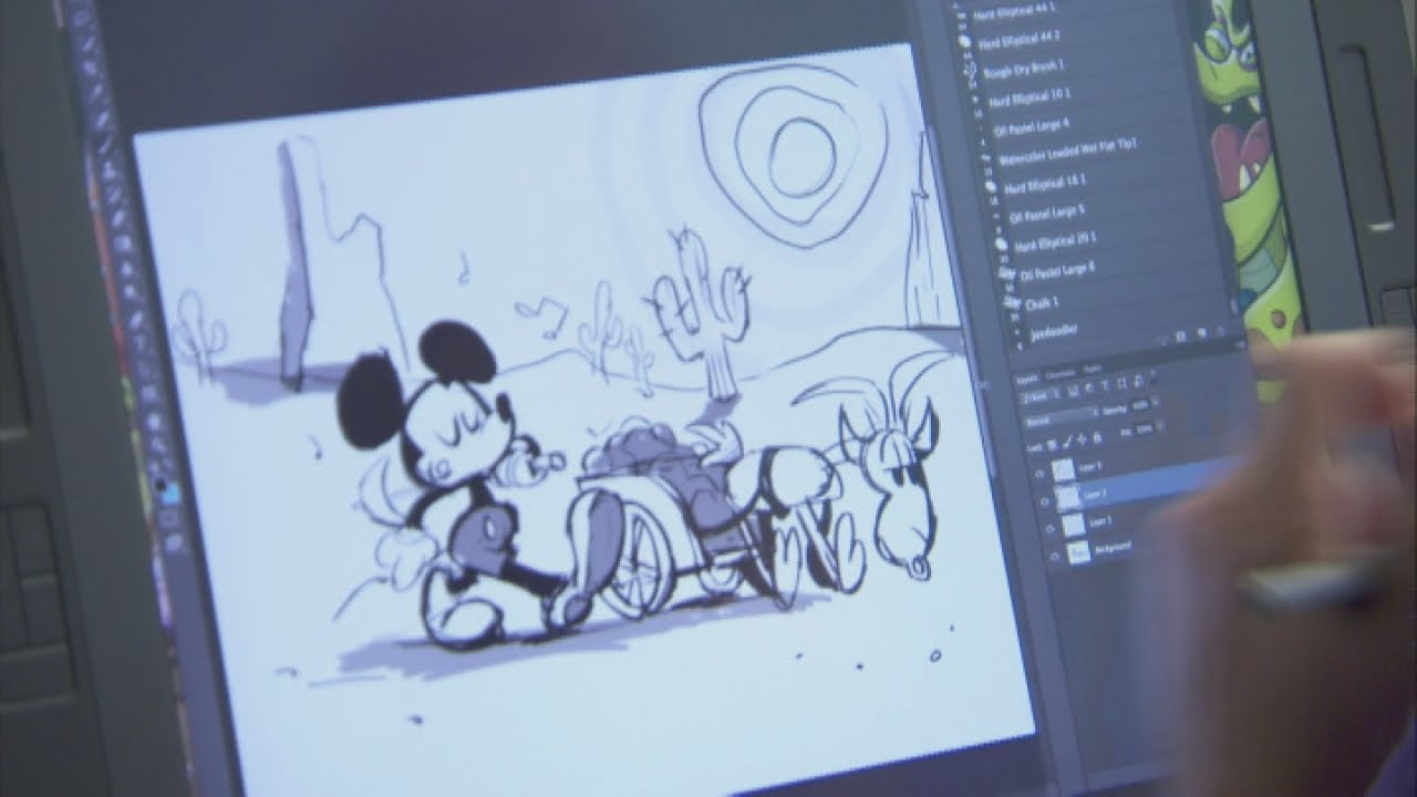 Disney premieres new Mickey Mouse cartoon shorts and ... | 1280 x 720 jpeg 74kB