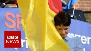 BBC Hack Reporter Usual Defamations of Nationalist AFD