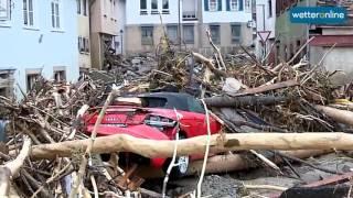 Wetteronline.de: Unwetter Und Jahrhundertflut In Braunsbach (30.05.2016)