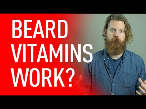 Do Beard Vitamins Work? | Eric Bandholz