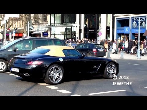 One-Day Carspotting in Düsseldorf! (V12 Vantage, SLS Roadster and more!) - Part 3 (1080p Full HD)