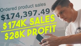 $28,000 PROFIT in 1 Month (JULY 2017 Amazon FBA Income Report)