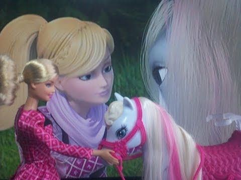 Barbie y sus Hermanas en una Historia de Ponis Barbie y Majesty Barbie and Her Sisters in a Pony T