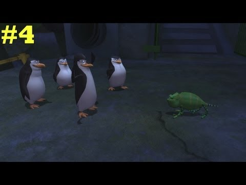 Penguins Of Madagascar Ps3 (commentary) Part 4: Roger video