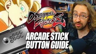 ARCADE STICK BUTTON/LAYOUT GUIDE: Dragon Ball FighterZ
