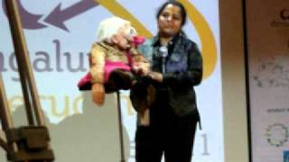 Bengaluru Recycling Habba launch with ventriloquist Indushree