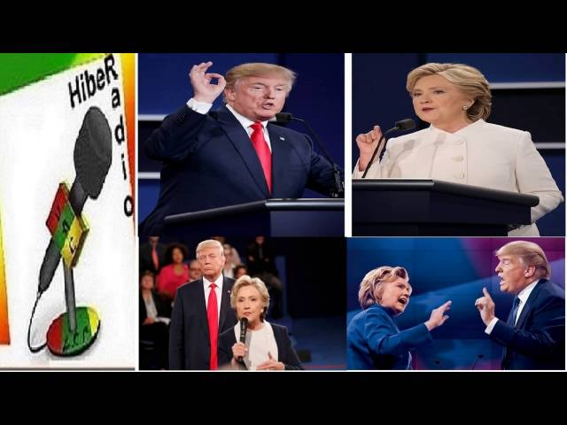 Hiber Radio News Analysis on Donald Trump and Hilary Clinton