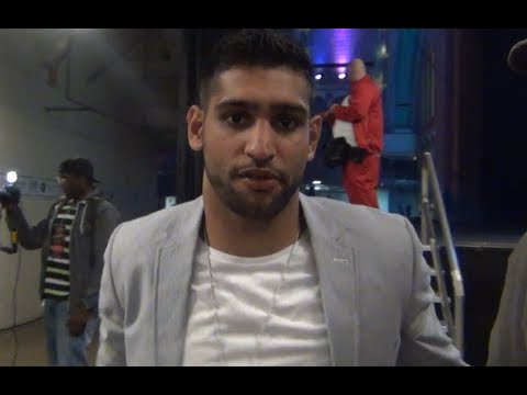 Amir Khan talks about Matthysse performance and possibly meeting him in the future