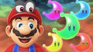 Super Mario Odyssey - Top 5 Power Moon Shortcuts