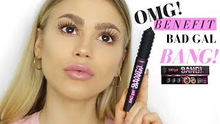 FIRST IMPRESSION | NEW BENEFIT BAD GAL BANG MASCARA!