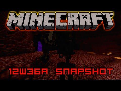 Minecraft 1.4 Snapshots - 12w36a - Mob fejek. wither skeleton. irányítható disznók...