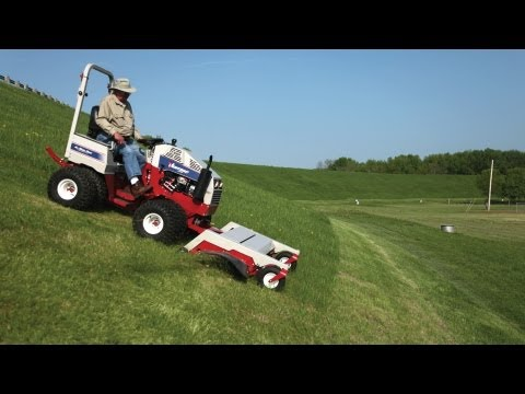 Slope Mowing with Ventrac