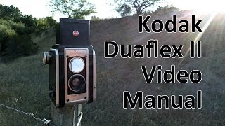 Kodak Duaflex II Video Manual