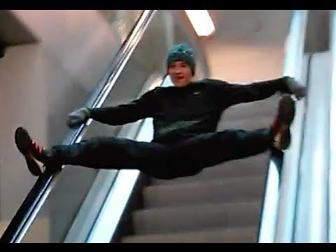 The Ultimate Escalator FAIL Compilation