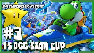 Mario Kart 8 Wii U - (1440p) Part 3 - 150CC Star Cup