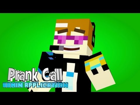 Minecraft: Prank Calls - Admin Application