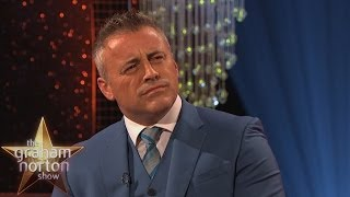 Matt LeBlanc Does Some 'Smell the Fart Acting' - The Graham Norton Show